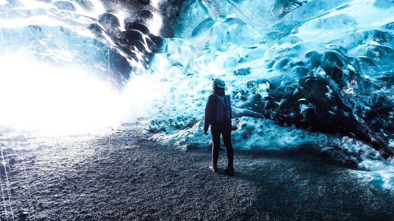 Eishöhlentour Island - Crystal Ice Cave