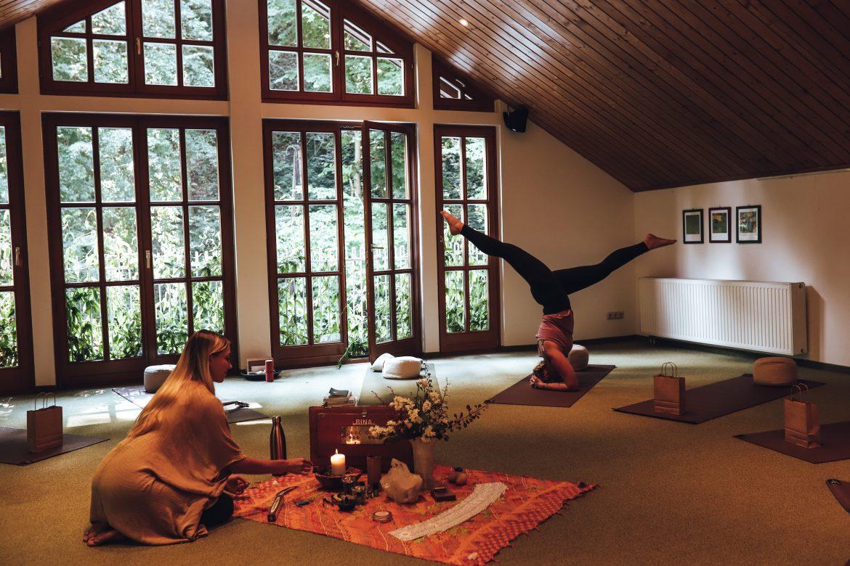 Mein erstes Yoga Retreat im Naturidyll Hotel Hammerschmiede