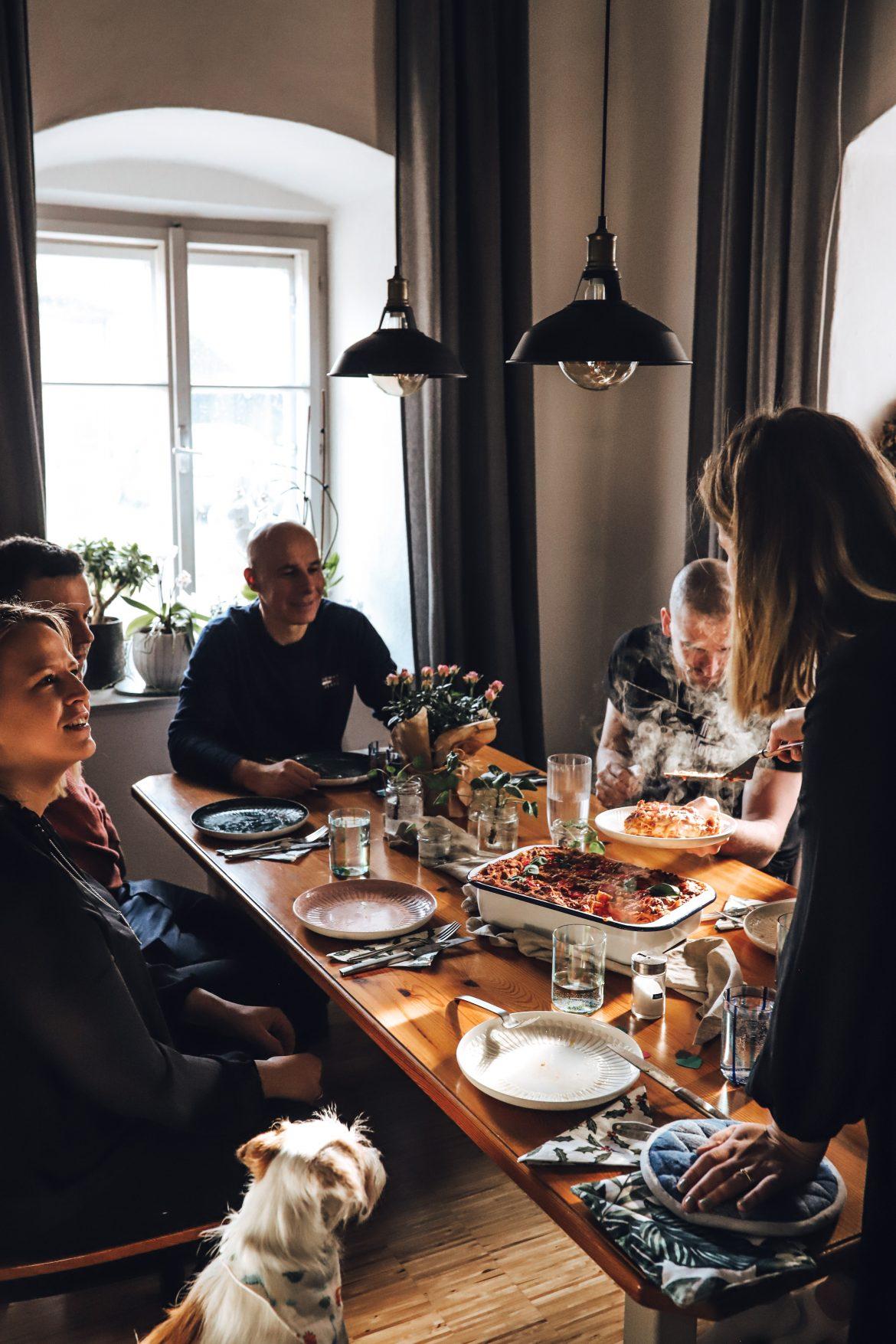 Vegan essen mit Freunden - mit Billa